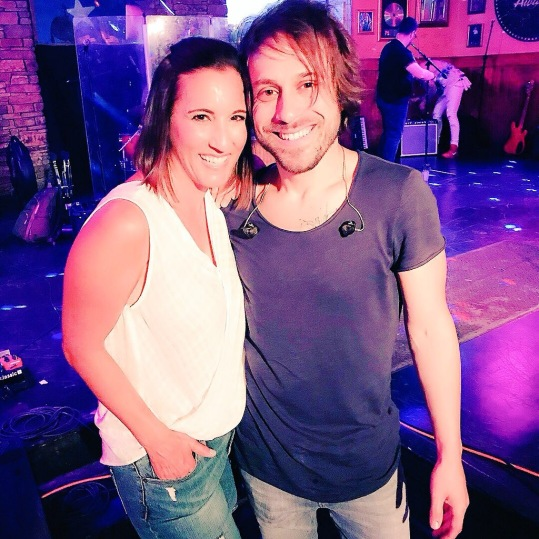 With my good friend Nashville singer-songwriter Adam Bruno