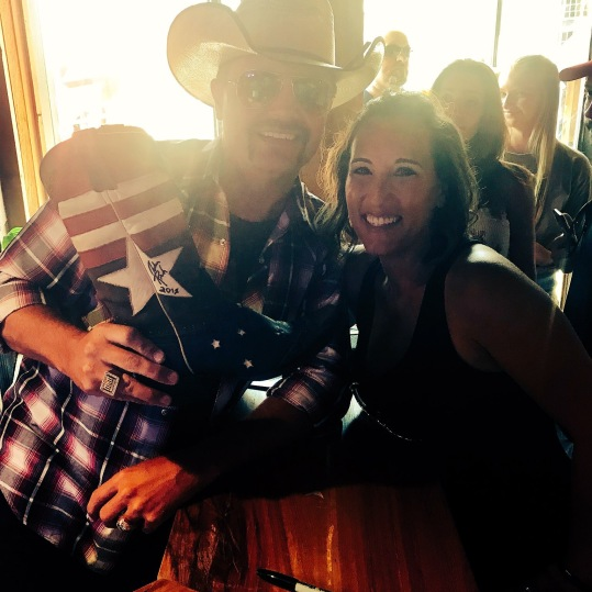 John Rich just signed my Redneck Riviera boot