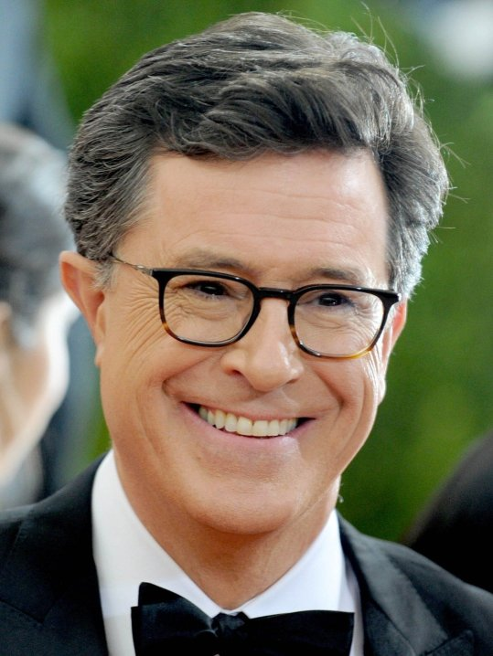 "Photo by: Dennis Van Tine/starmaxinc.com STAR MAX 2016 ALL RIGHTS RESERVED Telephone/Fax: (212) 995-1196 5/2/16 Stephen Colbert at ""Manus x Machina: Fashion In An Age of Technology"" Costume Institute Gala. (Metropolitan Museum of Art, NYC)"