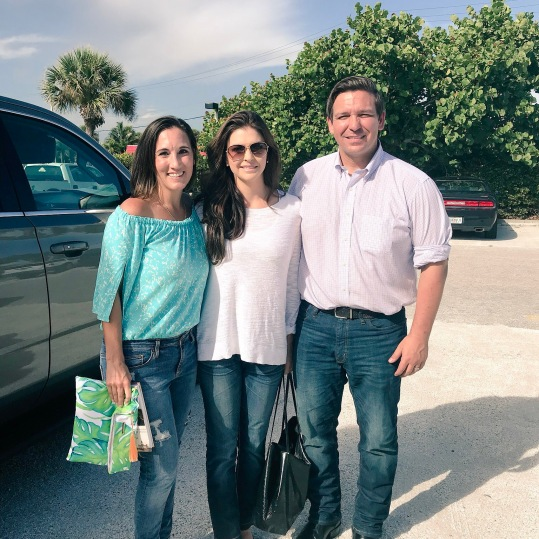 With Ron & Casey DeSantis